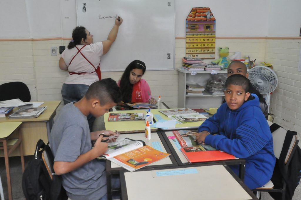 Com turmas reduzidas, a escola especializada oferece ensino de qualidade a seus alunos