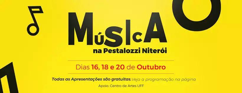 Musica na Pestalozzi - capa de Facebook