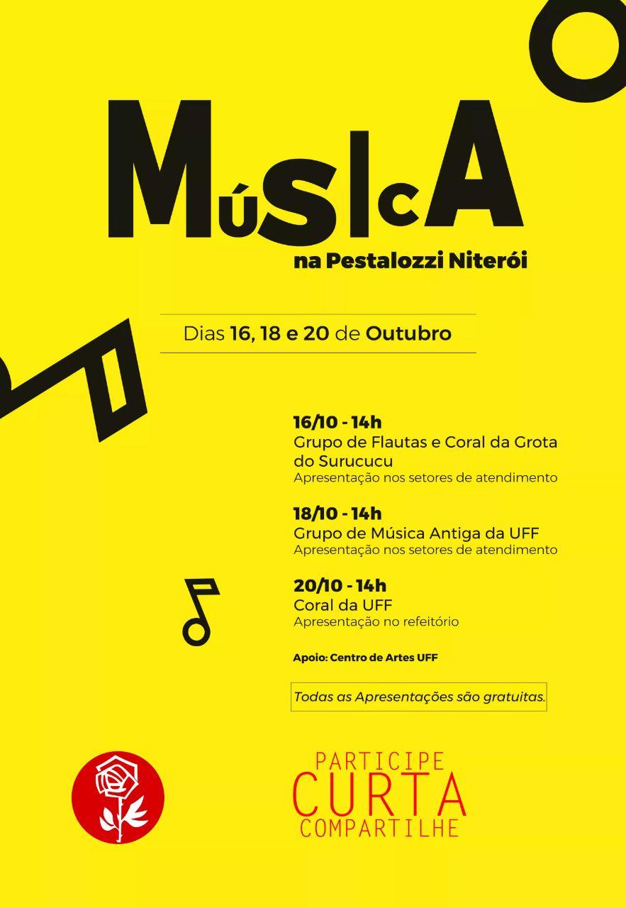 musica na pestalozzi - cartaz A3